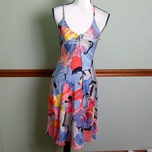 Armani Exchange size petite 0 silk dress